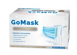 DISPOSABLE FACE MASK – 4 PLY – GO MASK